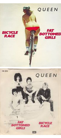 QUEEN. Bicycle race