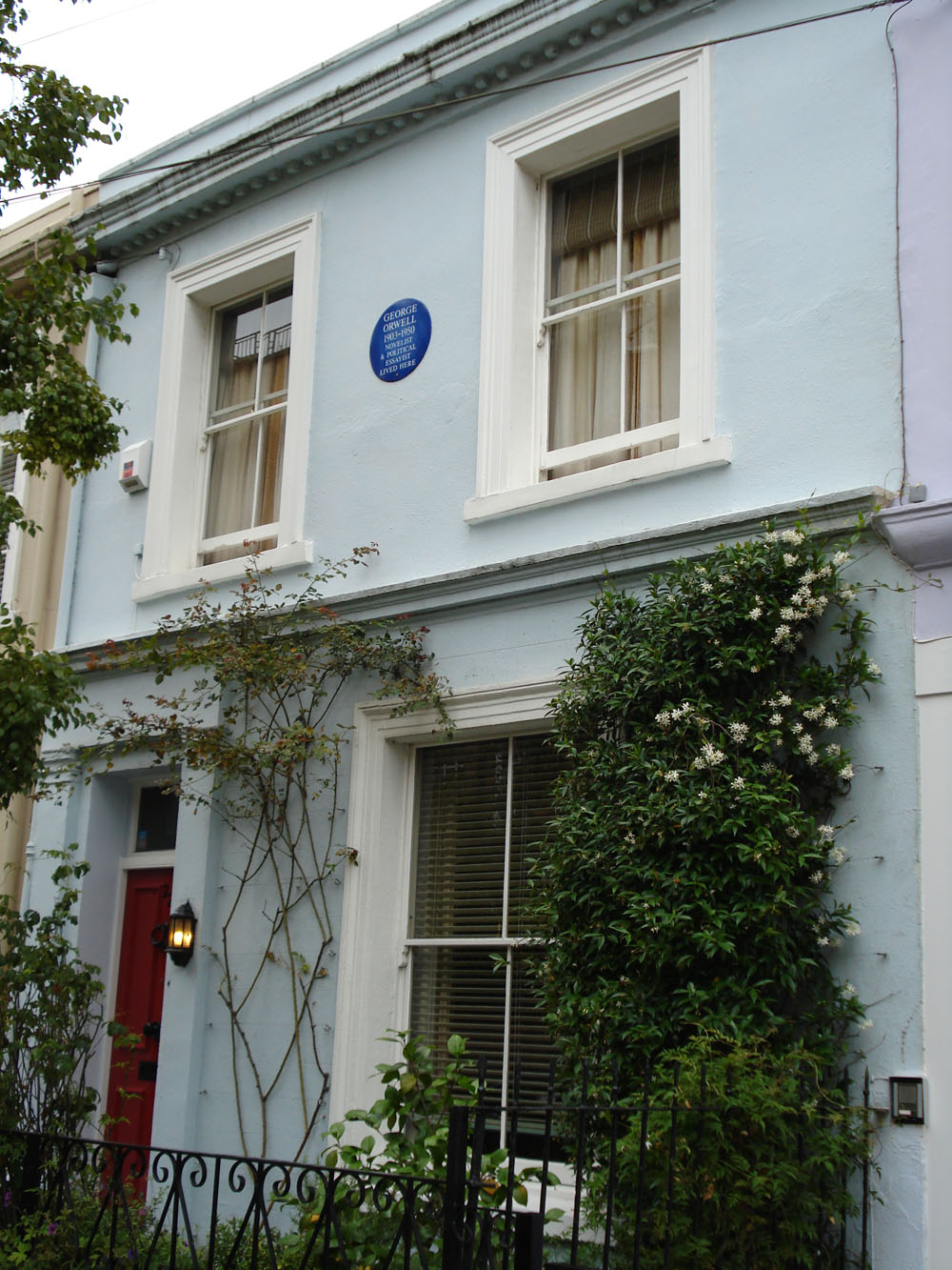 Casa de George Orwell a Notting Hill (Londres)